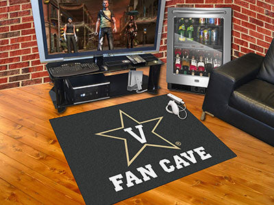 "NCAA Officially licensed Vanderbilt University Fan Cave All-Star 33.75""x42.5"" Celebrate your fandom with a Fan Cave mat from"