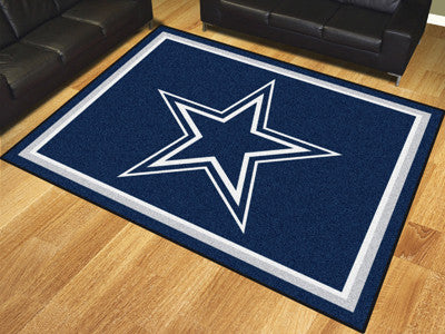 NFL Officially licensed products Dallas Cowboys 8'x10' Rug Show off your team pride in a big way! 8'x10' ultra plush area ru