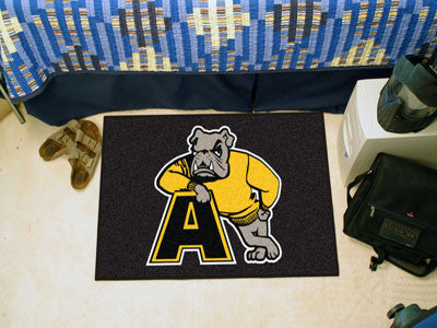 "NCAA Officially licensed Adrian College Starter Mat 19""x30"" Start showing off your team pride at home and the office with a"
