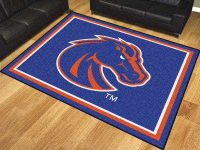 "NCAA Officially licensed Boise State University 8x10 Rug 87""x117"" Show off your team pride in a big way! 8'x10' ultra plush"