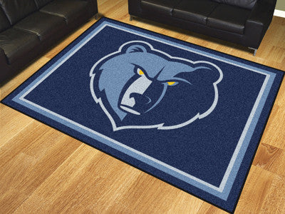 NBA Officially licensed products Memphis Grizzlies 8'x10' Rug Show off your team pride in a big way! 8'x10' ultra plush area