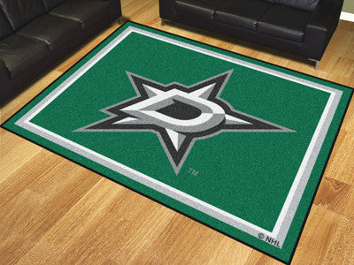 NHL Officially licensed products Dallas Stars 8'x10' Rug Show off your team pride in a big way! 8'x10' ultra plush area rugs