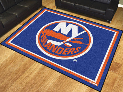 NHL Officially licensed products New York Islanders 8'x10' Rug Show off your team pride in a big way! 8'x10' ultra plush are