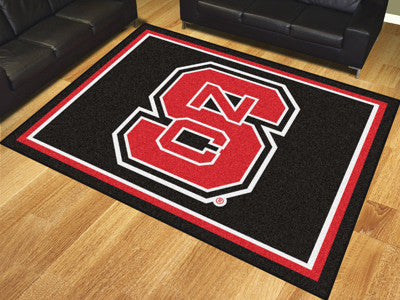 "NCAA Officially licensed North Carolina State University 8x10 Rug 87""x117"" Show off your team pride in a big way! 8'x10' ult"