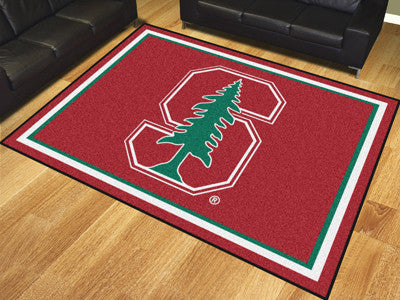 "NCAA Officially licensed Stanford University 8x10 Rug 87""x117"" Show off your team pride in a big way! 8'x10' ultra plush are"