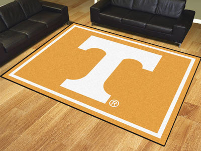 "NCAA Officially licensed University of Tennessee 8x10 Rug 87""x117"" Show off your team pride in a big way! 8'x10' ultra plush"