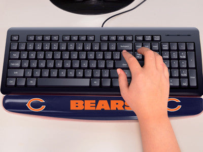 "NFL Officially licensed products Chicago Bears Wrist Rest 2""x18"" Join the hype and type with pride by using officially licen"
