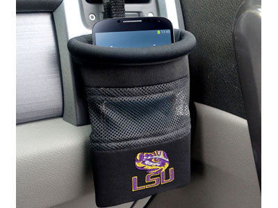 "NCAA Officially licensed Louisiana State University Car Caddy 5""x4.5"" Keep important items at arm?s length while diving with"