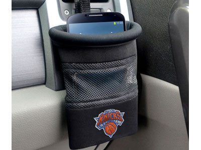 "NBA Officially licensed products New York Knicks Car Caddy 5""x4.5"" Keep important items at arm?s length while diving with an"