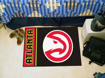 "NBA Officially licensed products Atlanta Hawks Uniform Starter Rug 19""x30"" Start showing off your team pride at home and the"