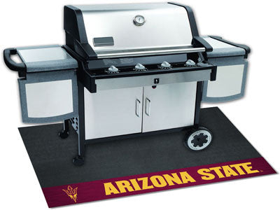 "NCAA Officially licensed Arizona State University Grill Mat 26""x42"" Are you a die-hard sports fan that likes to show off you"