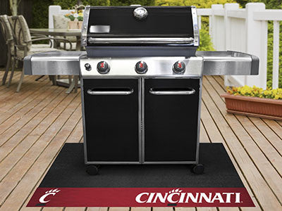 "NCAA Officially licensed University of Cincinnati Grill Mat 26""x42"" Are you a die-hard sports fan that likes to show off you"