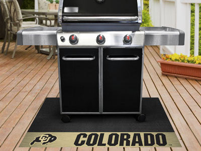 "NCAA Officially licensed University of Colorado Grill Mat 26""x42"" Are you a die-hard sports fan that likes to show off your"