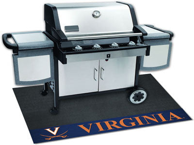 "NCAA Officially licensed University of Virginia Grill Mat 26""x42"" Are you a die-hard sports fan that likes to show off your"