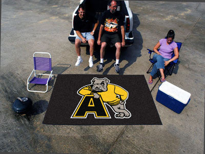 "NCAA Officially licensed Adrian College Ulti-Mat 59.5""x94.5"" Start showing off your team pride with an Ulti-Mat from Sports"