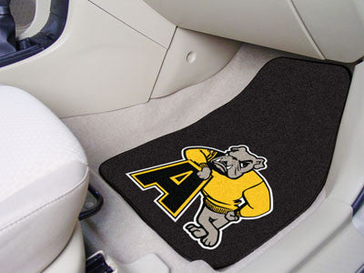 "NCAA Officially licensed Adrian College 2-pc Carpet Car Mat Set 17""x27"" Show your fandom even while driving with Carpet Car"