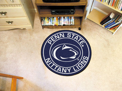 "NCAA Officially licensed Penn State  Roundel Mat 27"" diameter Looking for a unique rug to decorate your home or office with?"