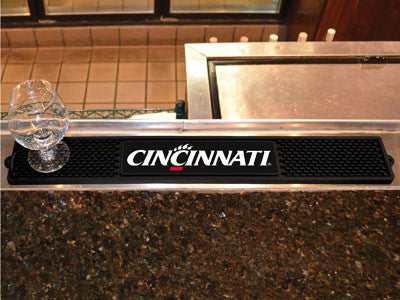 "NCAA Officially licensed University of Cincinnati Drink Mat 3.25""x24"" Keep your freshly crafted drinks safe with our new off"