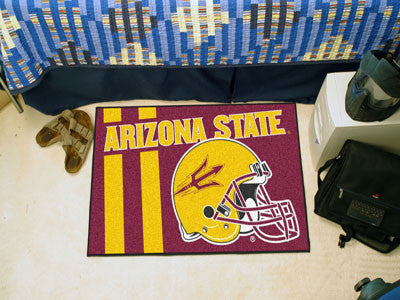 "NCAA Officially licensed Arizona State University Starter Mat 19""x30"" Start showing off your team pride at home and the offi"