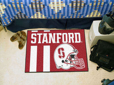"NCAA Officially licensed Stanford University Starter Mat 19""x30"" Start showing off your team pride at home and the office wi"