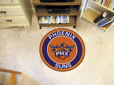 "NBA Officially licensed products Phoenix Suns Roundel Mat 27"" diameter Looking for a unique rug to decorate your home or off"