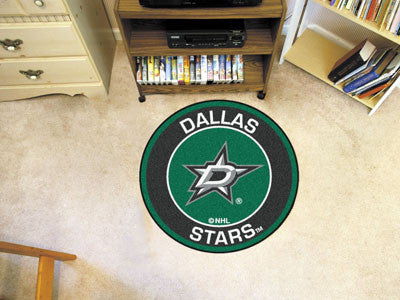 "NHL Officially licensed products Dallas Stars Roundel Mat 27"" diameter Looking for a unique rug to decorate your home or off"