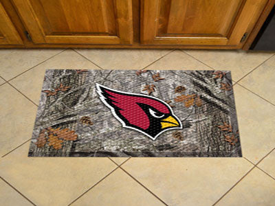 "NFL Officially licensed products Arizona Cardinals Scraper Mat 19""x30"" - Camo Scraper Mats by SLSrts Licensing Solutions are"