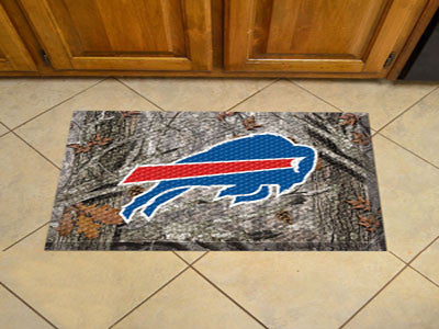 "NFL Officially licensed products Buffalo Bills Scraper Mat 19""x30"" - Camo Scraper Mats by SLSrts Licensing Solutions are gre"