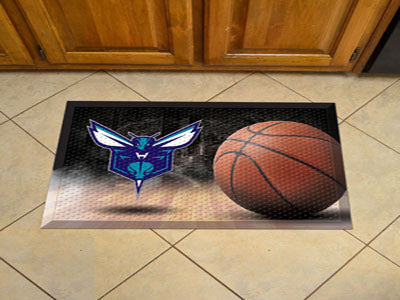 "NBA Officially licensed products Charlotte Hornets Scraper Mat 19""x30"" - Ball Scraper Mats by Sports Licensing Solutions are"