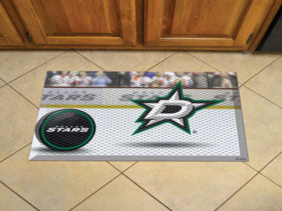 "NHL Officially licensed products Dallas Stars Scraper Mat 19""x30"" - Puck Scraper Mats by Sports Licensing Solutions are grea"