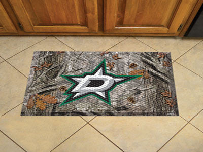 "NHL Officially licensed products Dallas Stars Scraper Mat 19""x30"" - Camo Scraper Mats by Sports Licensing Solutions are grea"