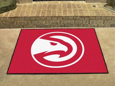 "NBA Officially licensed products Atlanta Hawks All-Star Mat 33.75""x42.5"" Join the All-Star team and decorate your home or of"