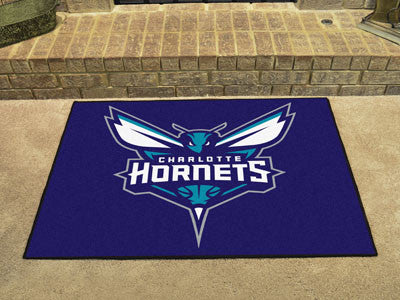 "NBA Officially licensed products Charlotte Hornets All-Star Mat 33.75""x42.5"" Join the All-Star team and decorate your home o"