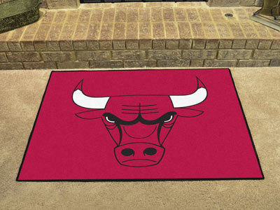 "NBA Officially licensed products Chicago Bulls All-Star Mat 33.75""x42.5"" Join the All-Star team and decorate your home or of"