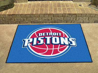 "NBA Officially licensed products Detroit Pistons All-Star Mat 33.75""x42.5"" Join the All-Star team and decorate your home or"