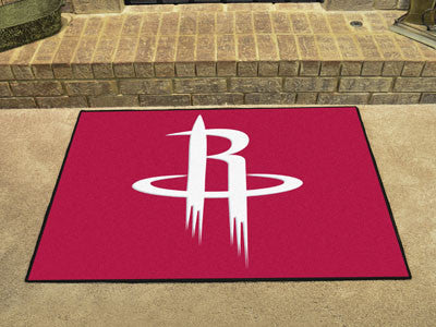 "NBA Officially licensed products Houston Rockets All-Star Mat 33.75""x42.5"" Join the All-Star team and decorate your home or"