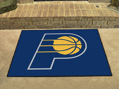 "NBA Officially licensed products Indiana Pacers All-Star Mat 33.75""x42.5"" Join the All-Star team and decorate your home or o"