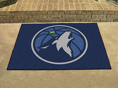 "NBA Officially licensed products Minnesota Timberwolves All-Star Mat 33.75""x42.5"" Join the All-Star team and decorate your h"