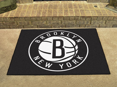 "NBA Officially licensed products Brooklyn Nets All-Star Mat 33.75""x42.5"" Join the All-Star team and decorate your home or of"