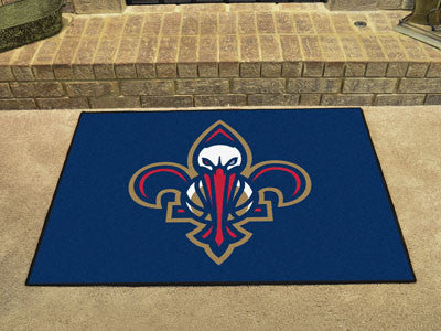 "NBA Officially licensed products New Orleans Pelicans All-Star Mat 33.75""x42.5"" Join the All-Star team and decorate your hom"