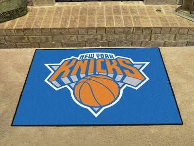 "NBA Officially licensed products New York Knicks All-Star Mat 33.75""x42.5"" Join the All-Star team and decorate your home or"