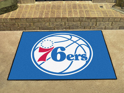 "NBA Officially licensed products Philadelphia 76ers All-Star Mat 33.75""x42.5"" Join the All-Star team and decorate your home"