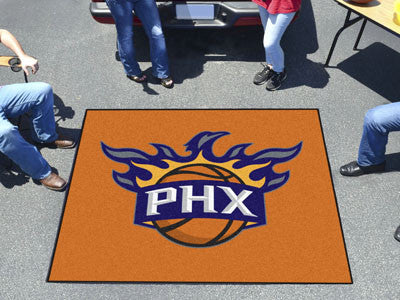 NBA Officially licensed products Phoenix Suns Tailgater Rug 5'x6' Start showing off your team pride with a Tailgater Mat fro