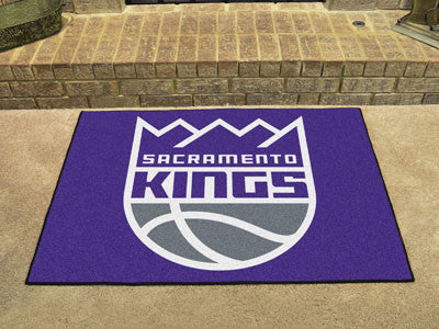 "NBA Officially licensed products Sacramento Kings All-Star Mat 33.75""x42.5"" Join the All-Star team and decorate your home or"