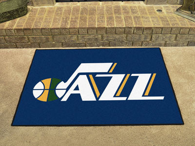 "NBA Officially licensed products Utah Jazz All-Star Mat 33.75""x42.5"" Join the All-Star team and decorate your home or office"