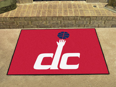 "NBA Officially licensed products Washington Wizards All-Star Mat 33.75""x42.5"" Join the All-Star team and decorate your home"