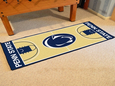 "NCAA Officially licensed Penn State  NCAA Basketball Runner 30""x72"" Support your alma mater with an officially licensed cour"