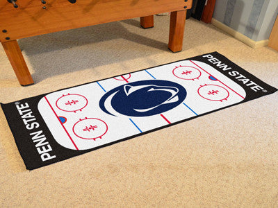 "NCAA Officially licensed Penn State  Rink Runner 30""x72"" The ice might be cool but these hockey Rink Runners are red hot! Ri"