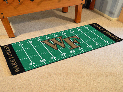 "NCAA Officially licensed Wake Forest University Football Field Runner 30""x72"" Are you a die-hard football fan that likes to"