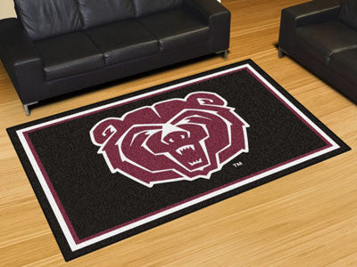 "NCAA Officially licensed Missouri State 5x8 Rug 59.5""x88"" Show off your team pride in a big way! 5'x8' ultra plush area rugs"